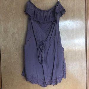 Adorable strapless mini dress